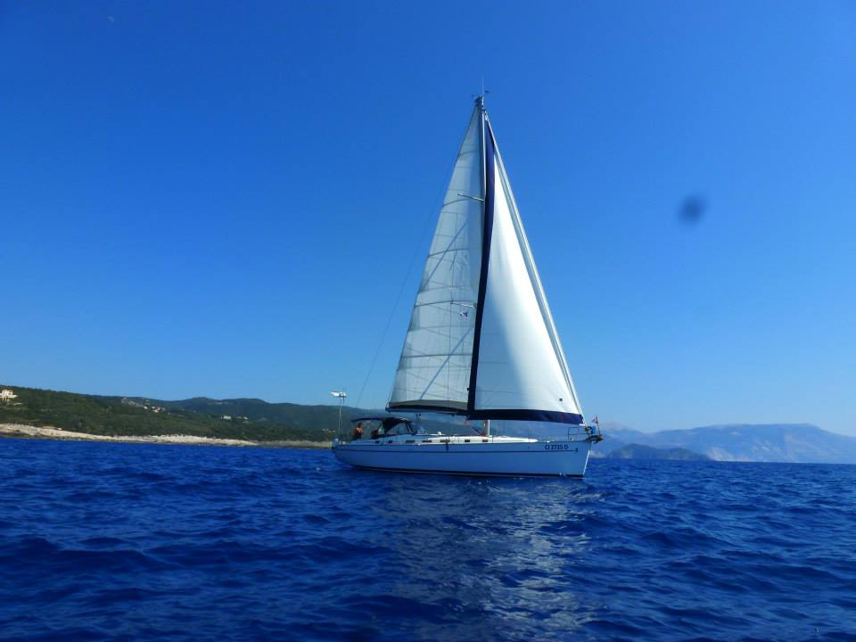 Micamale at sea